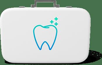 Dental suitcase