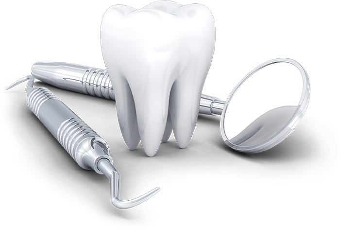 Giant tooth and dental tools